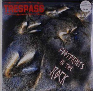 Footprints in Rock TRESPASS - Vinyl LP